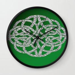 Celtic Swirl Wall Clock