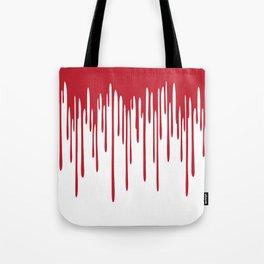 Blood Drippings Tote Bag