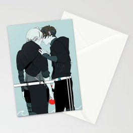 Kiss and Hold Hands Stationery Cards