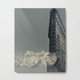 Flatiron Fractal Metal Print