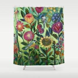 Garden Santuary Shower Curtain