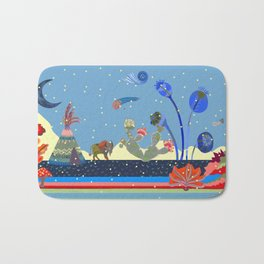 At night Bath Mat