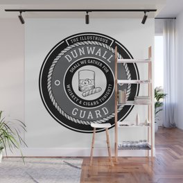 Whiskey & Cigars (Grey) Wall Mural