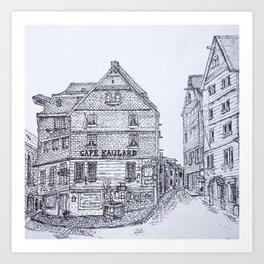 Coffee Shop Art Print