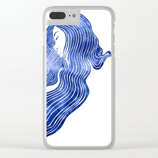 Nereid XIV Clear iPhone Case