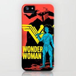 The Female Hero iPhone Case