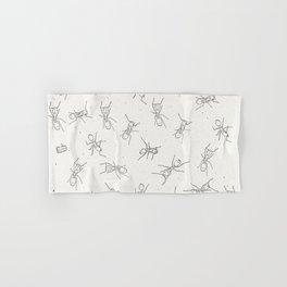 Ants and cake Hand & Bath Towel