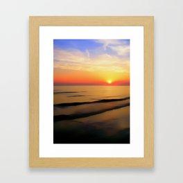 Perfect Night Framed Art Print