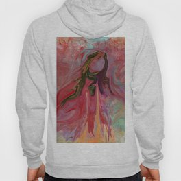 Abstract Angel Hoody