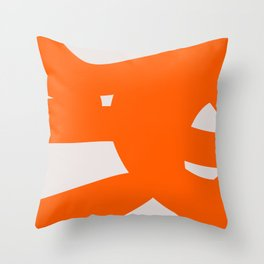 Abstract Form 6A Throw Pillow
