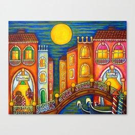 Venice Soiree Canvas Print