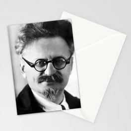 Leon Trotsky Portrait Stationery Cards