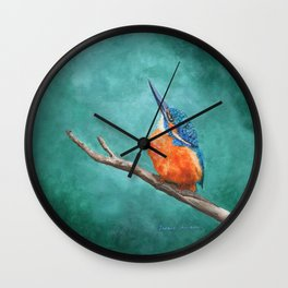 A Watchful Eye by Teresa Thompson Wall Clock