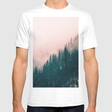Pink Haze Mens Fitted Tee White SMALL