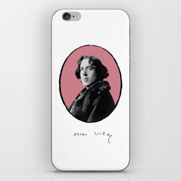 Authors - Oscar Wilde iPhone Skin