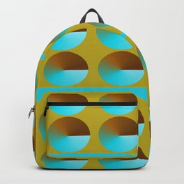Circle Pattern Backpack