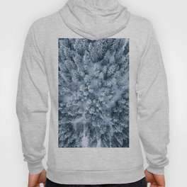 Winter Pine Forest Hoody