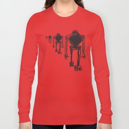 March Of The Robots Long Sleeve T-shirt