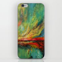aurora iPhone & iPod Skins featuring Aurora by Michael Creese