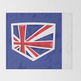 Montgomery Brits Logo Throw Blanket