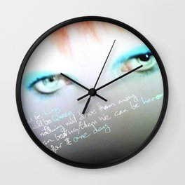just for one day Wall Clock