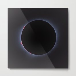 Totality - Solar Eclipse Metal Print