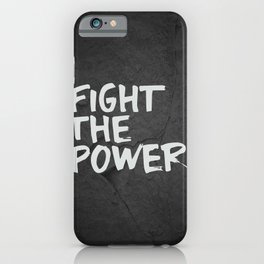 Fight the Power iPhone Case