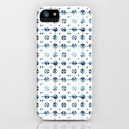 Azulejo I - Portuguese hand painted tiles iPhone Case