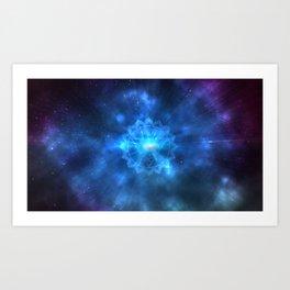 Space Chakra Art Print
