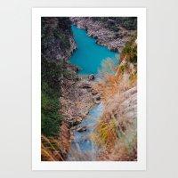 River. Art Print