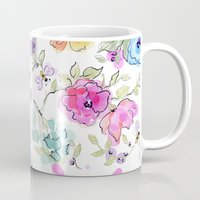 bees Mugs featuring bees by Ariadne