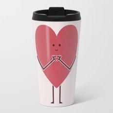 Heart Hands Travel Mug