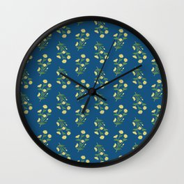 Floral pattern #1 Wall Clock