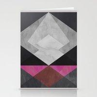 diamond Stationery Cards featuring Diamond by Georgiana Paraschiv