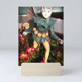 Saxifraga and hawthorn fairy Mini Art Print
