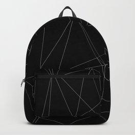 Geometrika 01 Black Backpack
