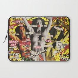 La figura femenina como objeto opresivo en revistas de moda. Laptop Sleeve