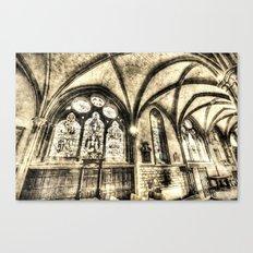 Southwark Cathedral London Vintage Canvas Print