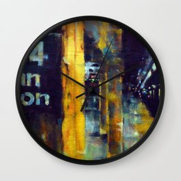 Underneath NYC: 34th Street on the 2/3 Wall Clock