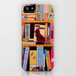 Dog Books With A Difference iPhone Case