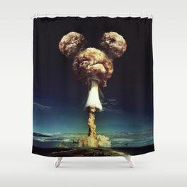 Mass Destruction Shower Curtain