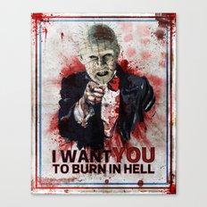 I want you! Canvas Print