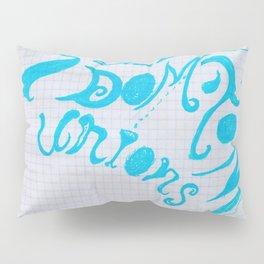 """Logo pour le """"Diamant Noir C ta nous Pillow Sham"""