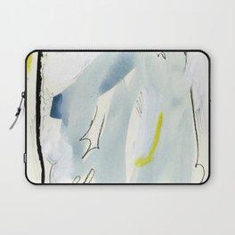 Silk Chiffon Blue Laptop Sleeve