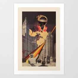 Vaccination of Metropolis Art Print
