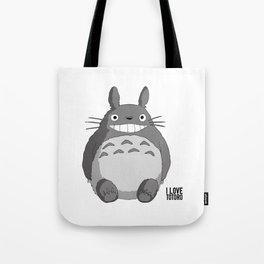 I Love Totoro Tote Bag