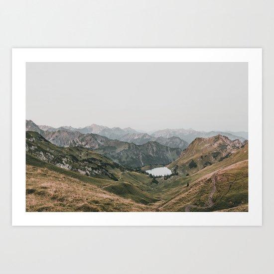 Gentle - landscape photography Art Print