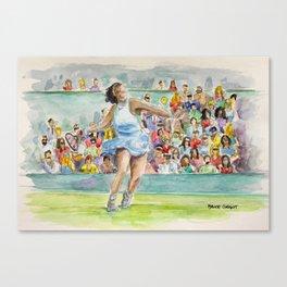 Serena Williams_Pro tennis player Canvas Print