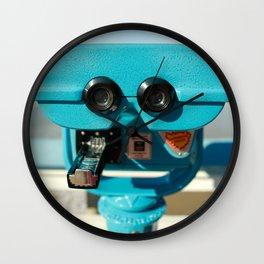 Beach Viewer Binoculars Wall Clock