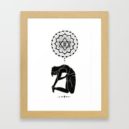 Heart Opener Framed Art Print